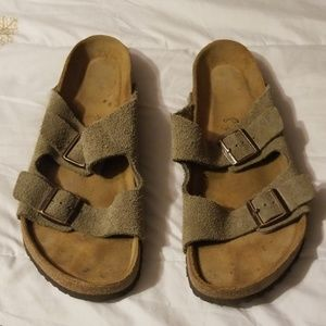 Birkenstock Slip On Sandals Size 46 (M13)